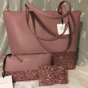 Brand new Kate Spade Handbag Set